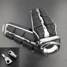 Chrome Retro Foot Pegs Rest For Harley V-Rod Street Rod VRSCR Ultra Limited Low
