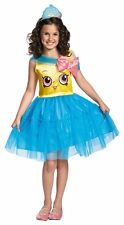 Disguise Shopkins Queen Cupcake Classic Costume One Color Small 4-6