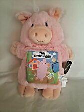 DEMDACO This Little Piggy Puppet/Book Baby Shower Christmas Birthday