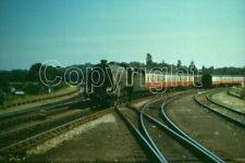 Rail Slide BRS 392 N15 30765 SIR GARETH with a Swanage train at Hamworthy Juncti