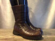 HAVANA JOE Women's Brown Mid Calf Boots Shoes Size 6.5 US 37 EUR
