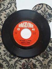 VANITY FARE Hitchin' A Ride / Man Child  45rpm vinyl record