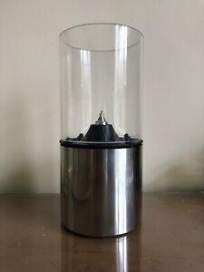 Stelton Oil Polished Steel Lamp Erik Magnussen