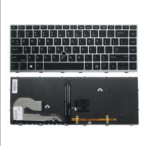 New HP EliteBook 745 840 G5 G6 Backlit Keyboard L11307-001 L14377-001 L11308-001