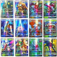 Pokemon Card Lot 200PCS TCG FLASH Cards with Rare Com Unc + GX EX HYPER OR MEGA