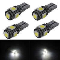T10 CAR LED SIDE LIGHT BULBS CANBUS ERROR FREE XENON WHITE LED 501 2/4/6PCS