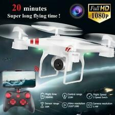 2.4G 4CH 6-Axis HD 1080P Quadcopter Drone FPV RC Aircraft Remote + APP Control