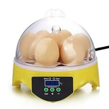 Mini Egg Incubator Poultry Incubator Brooder Digital Temperature Control Hatcher