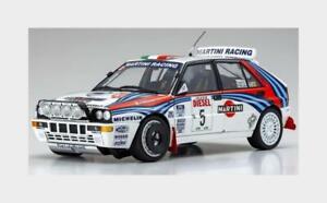 Lancia Delta Hf Integrale Martini #5 Win.Rally Sanremo 1992 KYOSHO 1:18 KY08348B