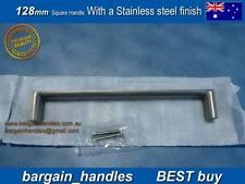 KITCHEN CABINET BATHROOM CUPBOARD DOOR HANDLE 20x128mm with a SSteel Finish