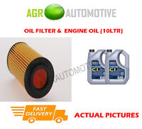 DIESEL OIL FILTER + C1 5W30 ENGINE OIL FOR VOLVO S80 2.4 185 BHP 2008-09