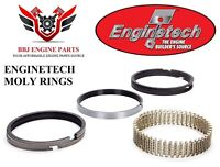"""Chevy 400 Olds 455 Hastings RACE Ductile Moly Rings 5//64-5//64-3//16 4.155/"""" 030"""