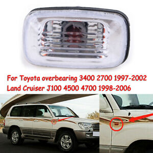 For Toyota Land Cruiser 70 80 100 Series Clear Side Marker LED Signal Light