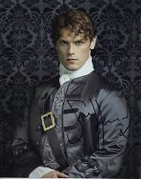 Sam Heughan Signed 10X8 Photo Outlander GENUINE SIGNATURE Aftal COA (5193)