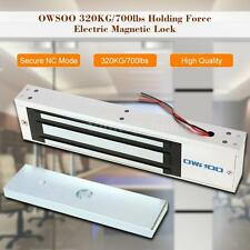 320KG Electric Magnetic Door Lock Holding Force Access Control System HOT J2E2