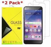 2-Pack Tempered Glass Screen Protector For LG Premier Pro LTE / Xpression Plus