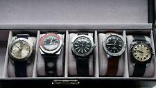 lot montres mécaniques e automatiques  a vendre plusieurs montres plongeuses