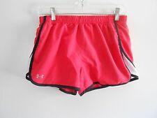 Under Armour women's running shorts - women's Medium - Pink/black/white