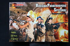 YD083 MARS 1/72 maquette figurine 72001 Russian Paratroopers Spetsnaz 30 Pcs