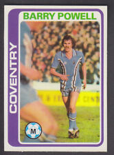 Topps - Footballers (Blue Back) 1979 - # 104 Barry Powell - Coventry