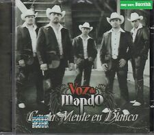 Voz de Mando Con La Mente en Blanco CD New Nuevo sealed