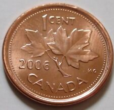 2006 CANADA SMALL Cent Coin. Mint Logo Rare MAGNETIC (RJ247)