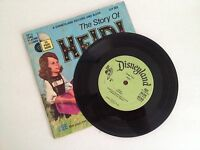 The Story Of Heidi Record And Book 33 1/3 1968 Walt Disney Productions