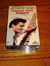 ELVIS PRESLEY FOLLOW THAT DREAM  VHS SEALED !