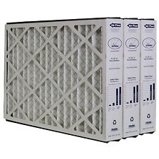 """Trion Air Bear 259112-101 (3 Pack) Pleated Furnace Air Filter 16""""x25""""x3"""" Merv 11"""