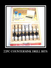 44 pc Countersink Drill Bits Set woodworking tools