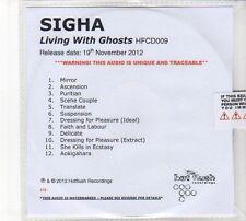 (DZ4) Sigha, Living With Ghosts - 2012 DJ CD