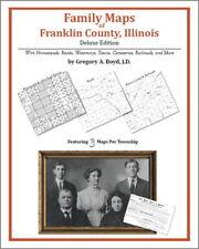 Family Maps Franklin County Illinois Genealogy IL Plat