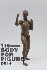 Very HOT Male Narrow Shoulder Nude Body w/ Nolasco Head Figure Black Ver. B014