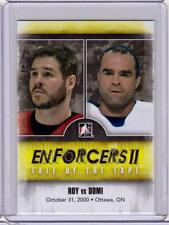 ANDRE ROY VS TIE DOMI 13/14 ITG Enforcers 2 II Tale of the Tape #144 Card