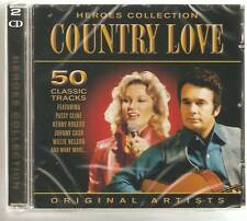 COUNTRY LOVE HEROES COLLECTION 2 CD SET
