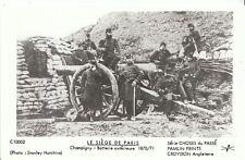 France Postcard - Le Siege De Paris - Champigny - Batterie Exterieure 1870 U869