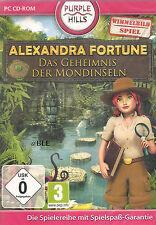 PC CD-ROM + Alexandra fortune + segreto della Luna Isole + scrutare + Win 7