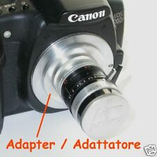 Adattatore macro per  fotocamera CANON EOS a KERN paillard C mount- ID 3773