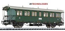 "Liliput L334008 ""BARGAIN"" Passenger Coach 3rd Class Baden Ep.I Ci 13744 Green H0"
