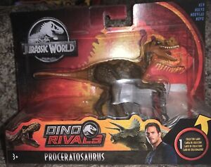 Brand New Jurassic World Dino Rivals Attack Pack Proceratosaurus Dinosaur