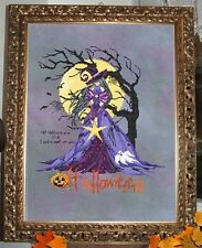 """COMPLETE XSTITCH MATERIALS  """"GOTHIC HALLOWEEN"""" RL44 by Passione Ricamo"""