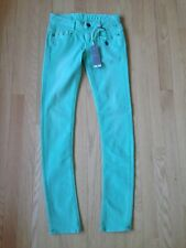 NEW! G-STAR COLORS NEW RADAR SKINNY WMN Jeans Size W26/L32 Color/Jade Green