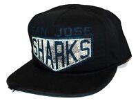 San Jose Sharks Reebok NC19Z Vintage Retro Sport Snapback NHL Hockey Cap Hat