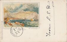 "Kent Postcard. Painting ""Dover"" after J.M.W Turner R.A. Undivided! Tuck. 1901"
