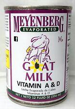 Meyenberg Evaporated Vitamin D Goat Milk 12 oz can