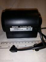 PENTAX 7.5-120mm Motorized Zoom Lens Video AI C60726HK (H16ZMED-5)