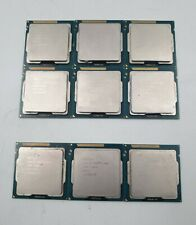 Lot of 9 Intel Core 6 x i5-3550 + 3 x i5-3450 Quad-Core Processor