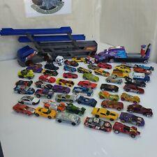 Huge 53 Lot Of Hot Wheels Diecast Cars & Trucks