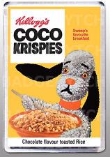 COCO KRISPIES SWEEP cereal box  LARGE FRIDGE MAGNET  - CLASSIC RETRO!