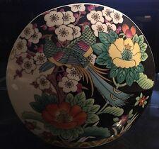Bone China Mikasa Narumi - Kutani Bird Patterned Large Vase - A7605
